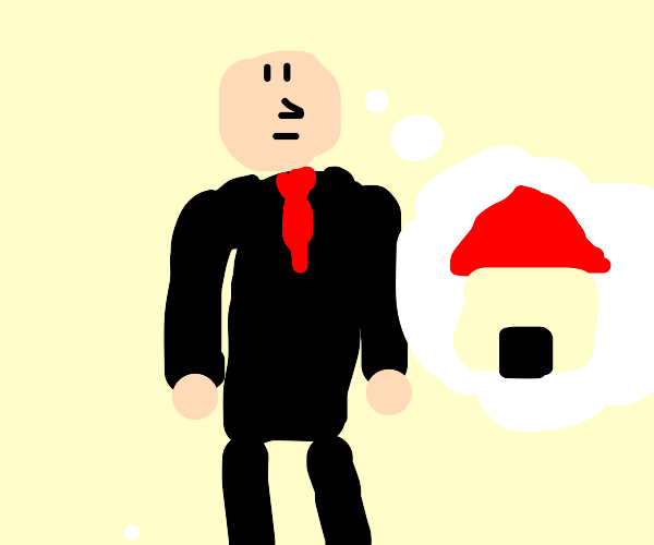 CEO imagining a House