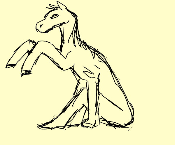 The worst reverse centaur ever