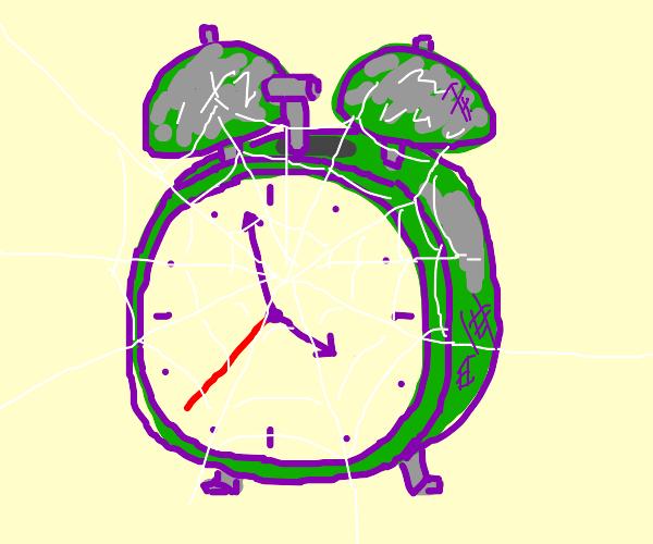 Alarm Clock with Dust