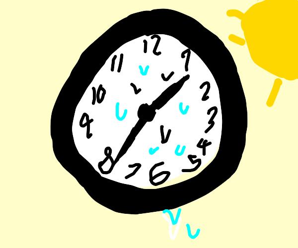 Sweaty Clock