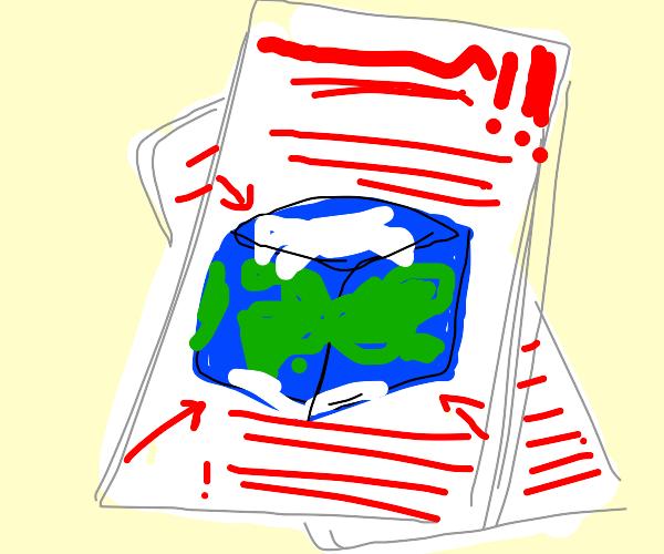 cube earth theory