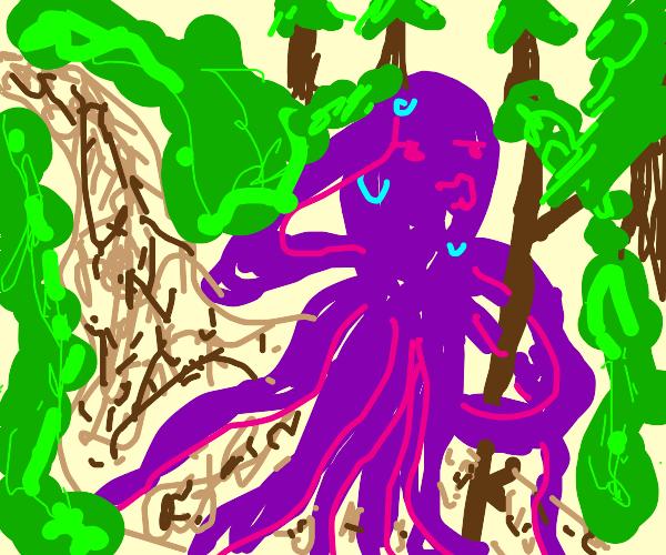 Octopus Hiking