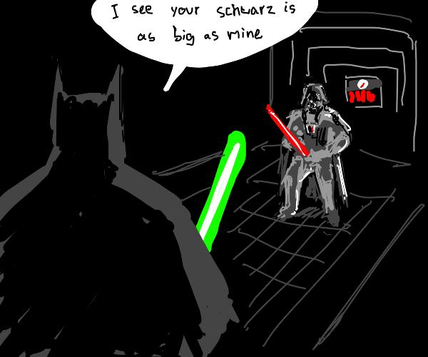 batman and darth vader are gay