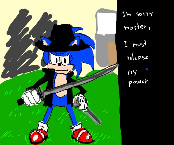 Edgelord Sonic