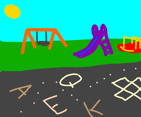 Playground in letters