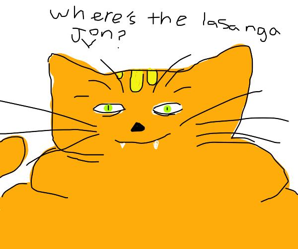 Hyper realistic Garfield