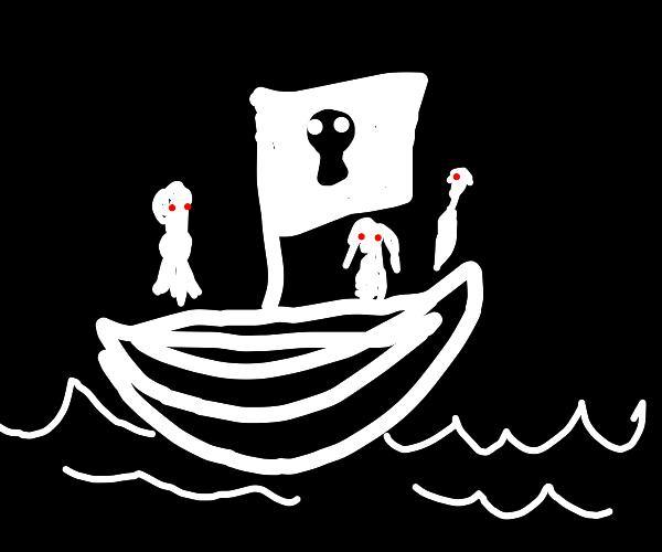 Spooky pirateship
