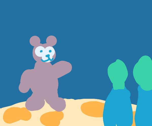 Yogi Bear on an Alien Planet