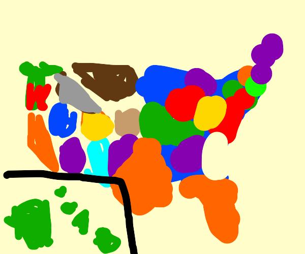 Wakko's 50 states