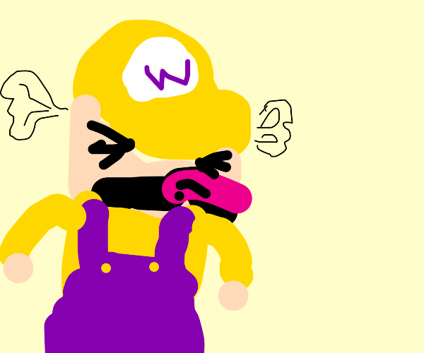 Wario is mad