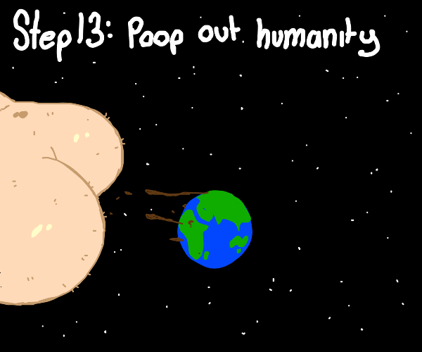step 12: devour humanity