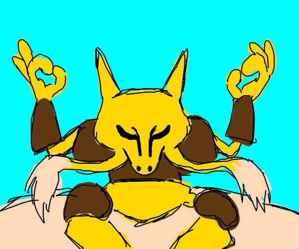 Alakazam (pokemon) Taking a day off