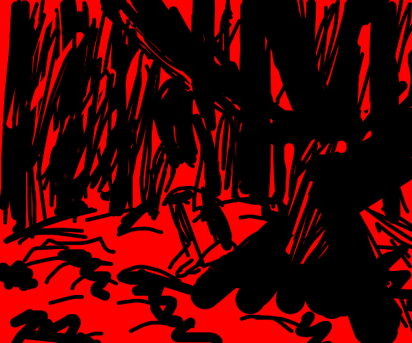 Demon in the forest
