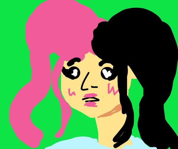 Melanie Martinez in pigtails