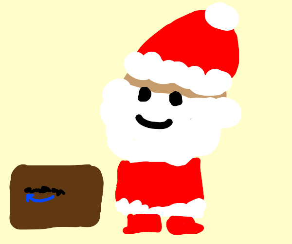 Santa uses Amazon