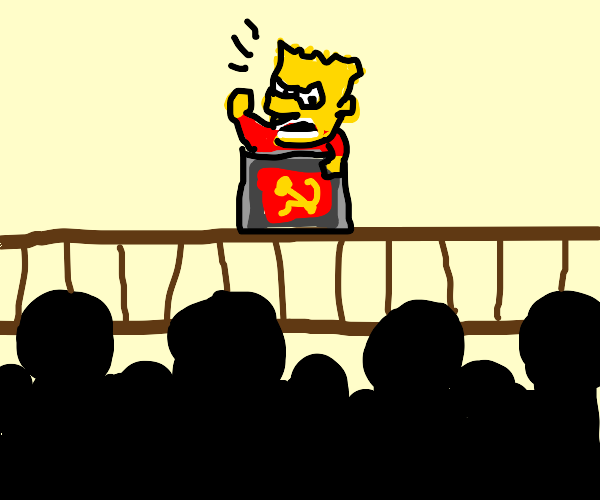 Bart is the leader of an upcoming revolution