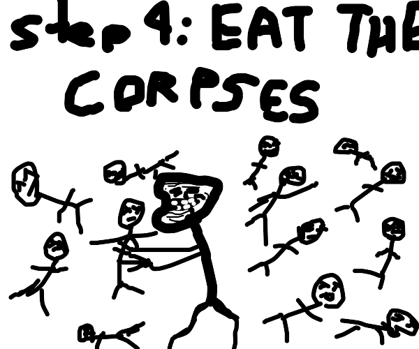 step 3: kill the mob of haters behind you