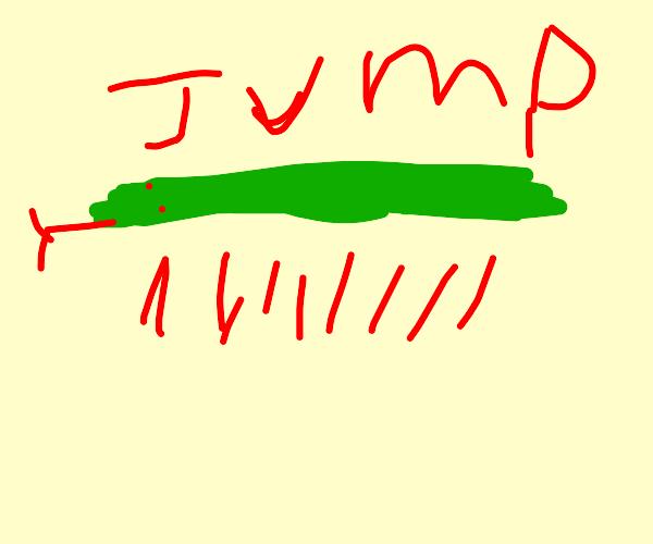 Rattlesnake Jumping
