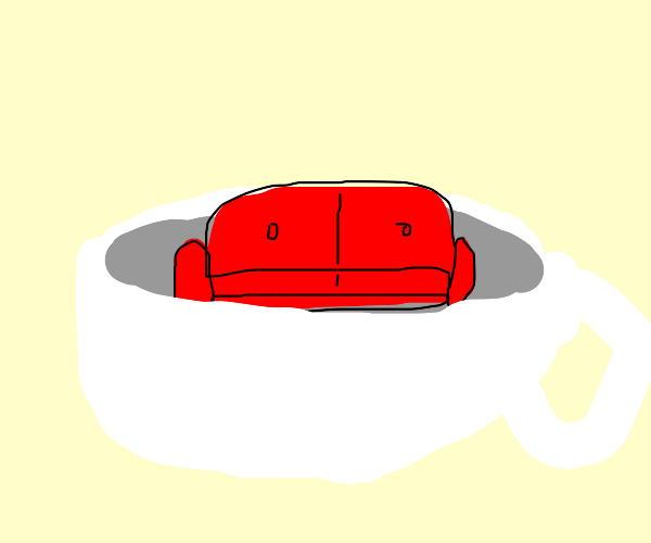 Couch in a Teacup