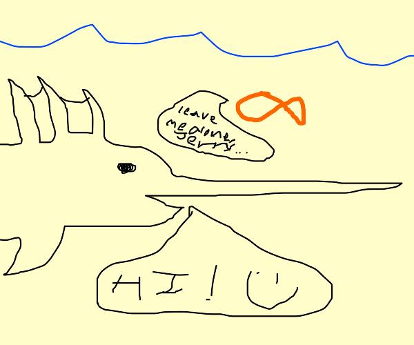 Swordfish says hi