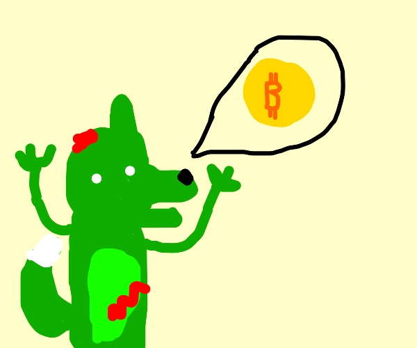 furry zombie wants bitcoin