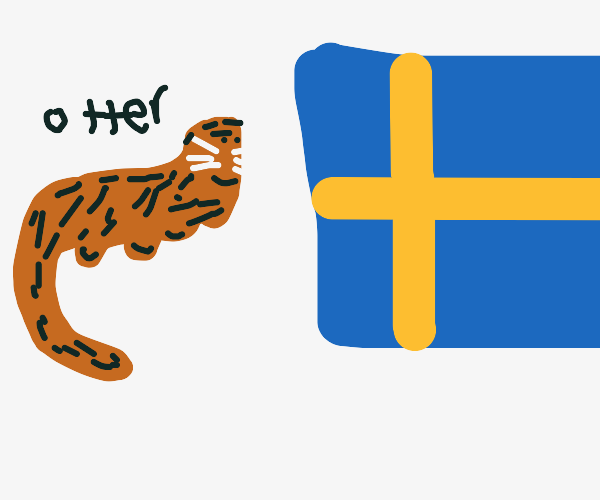 Otter in Sweden