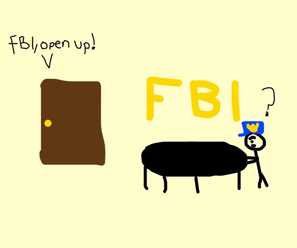 FBI invades FBI