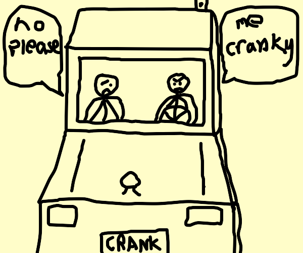 Cranky Truck Driver