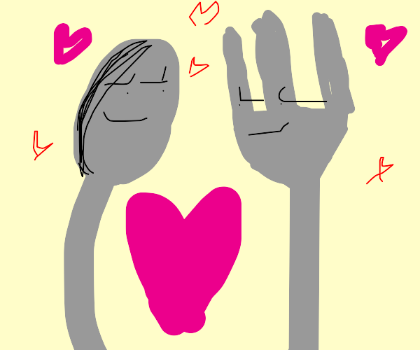 spoon and fork in love