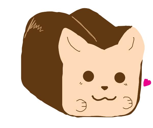 Kawaii cat bread