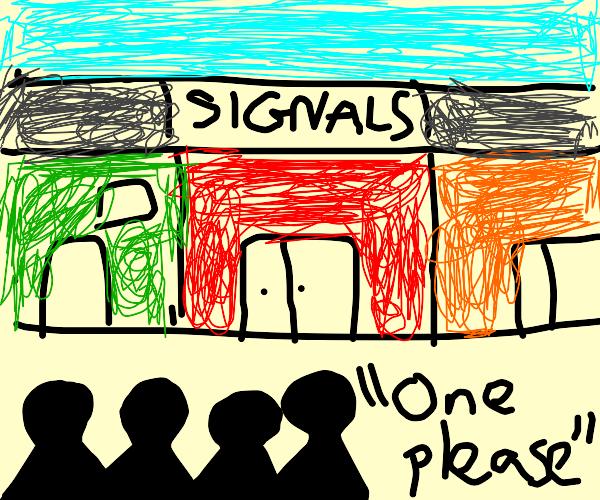 We get signal