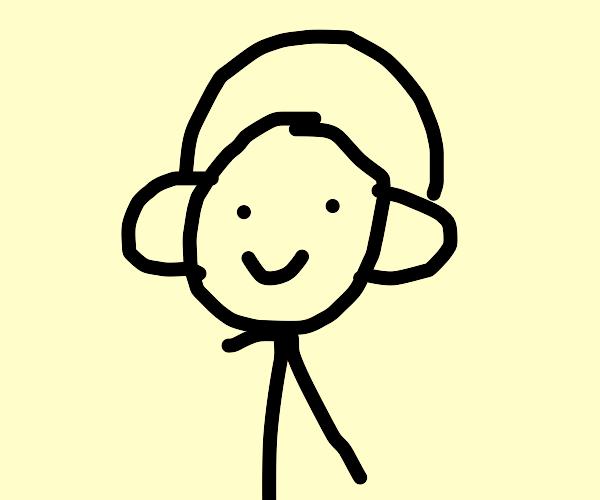 Man listens to music #BBEGM