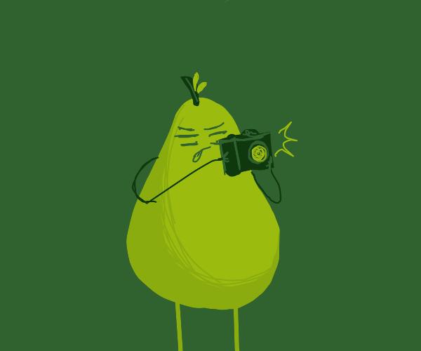 Pear Photographer