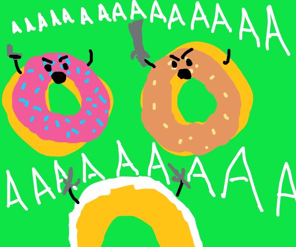Donut battle