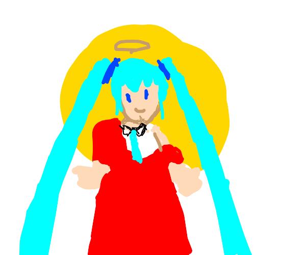 Our lord and savior Hatsune Miku