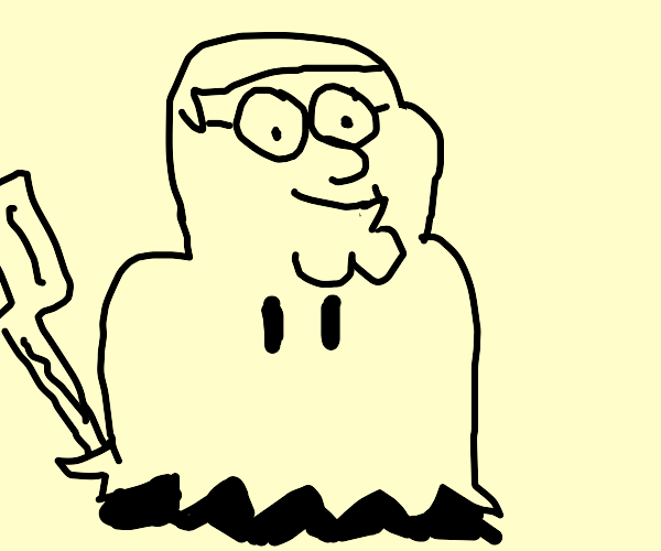 mimikyu with peter griffin face