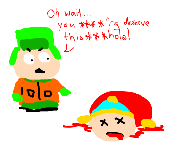 OMG, they killed Cartman!