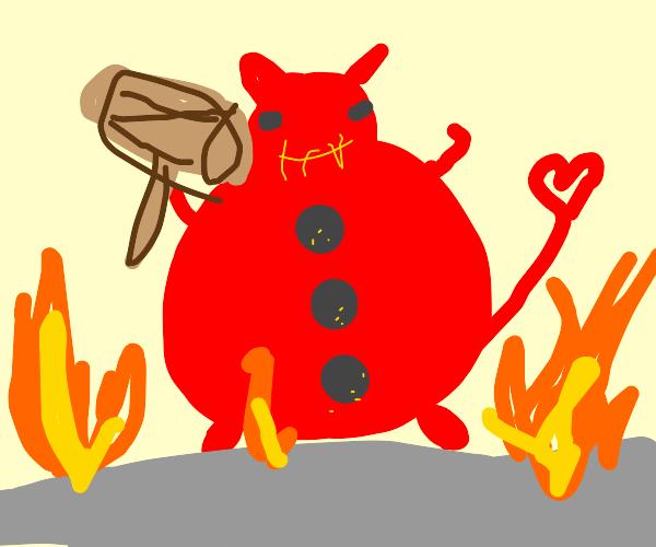 Button Devil