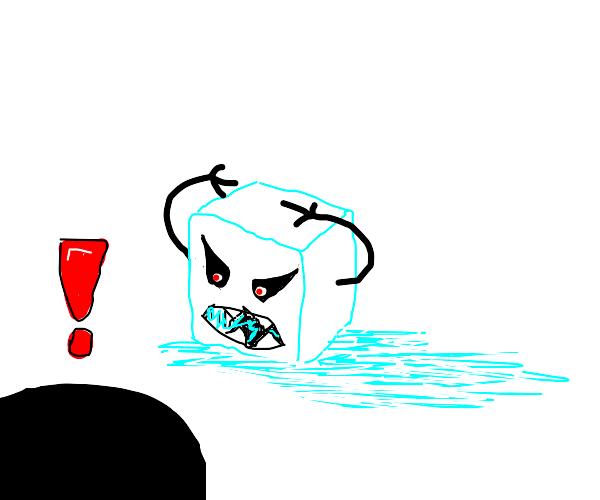 Frightening Icecube
