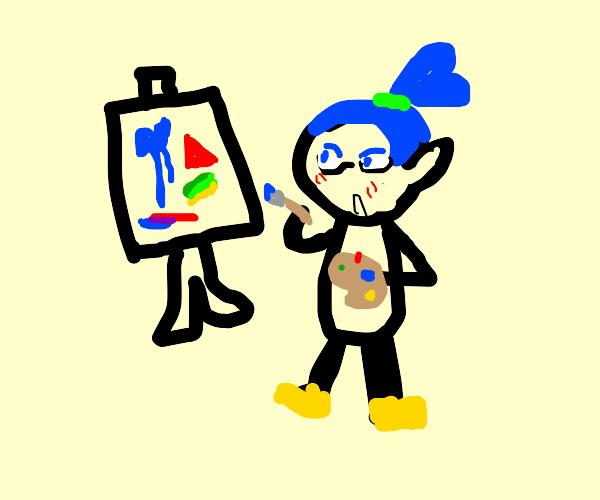 Splatoon Guy Finds a New Hobby: Art!