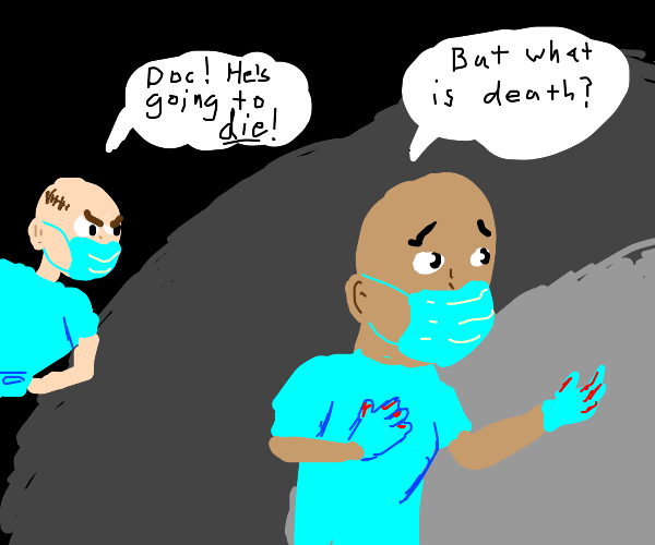 surgeon has existential crises during surgery