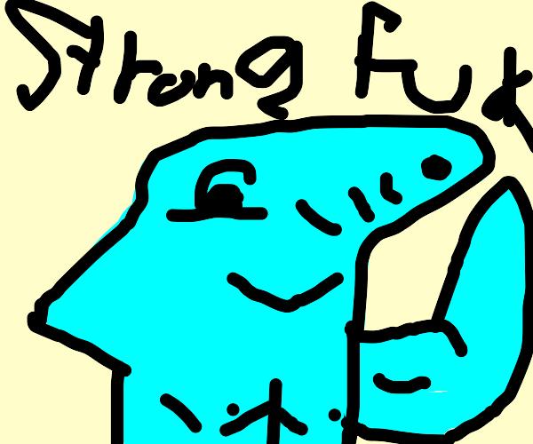 buff shark weightlifting