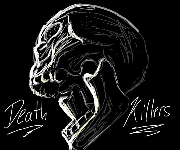 Death metal band logo