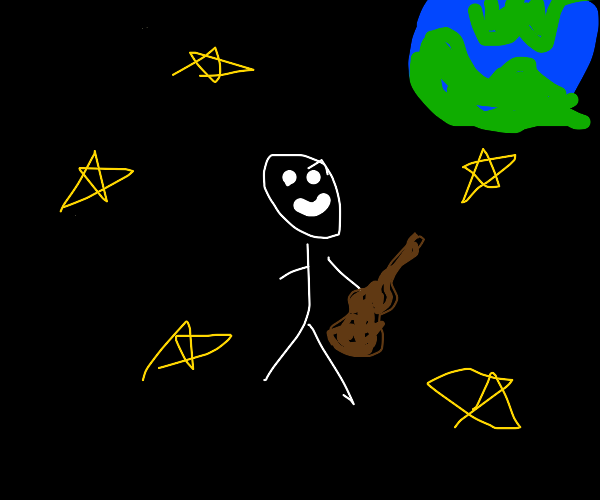 Musician in Space
