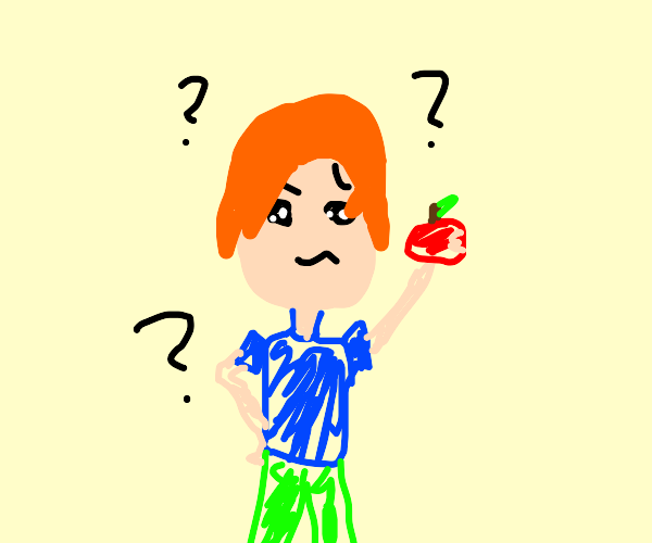 ginger kid doesnt know how to eat