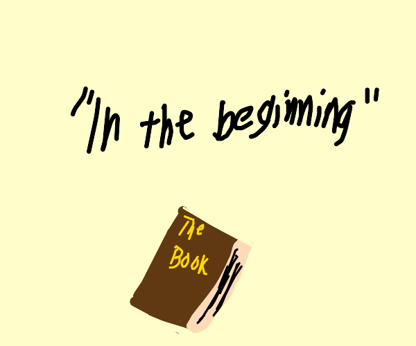The first line of your favourite book