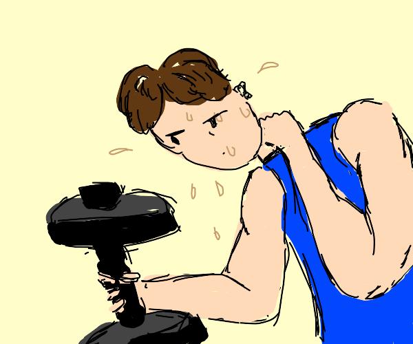 Sweaty Trainer