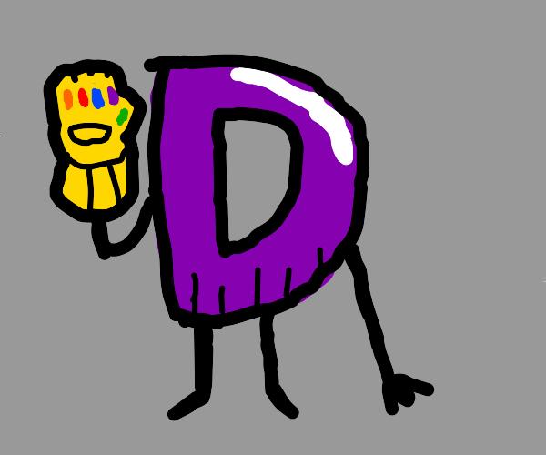 Thanos Drawception