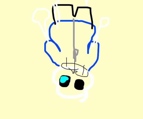 upside-down sans