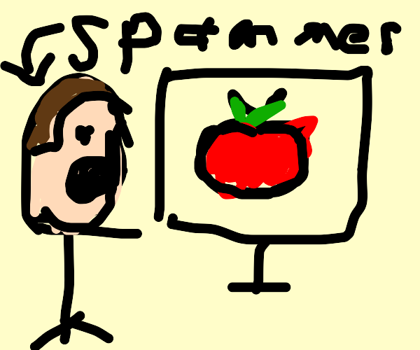 Spammer discovering a Tomato